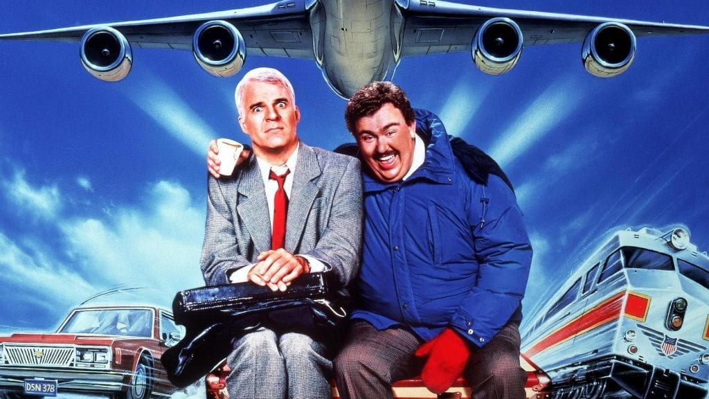 Thanksgiving Movie, Planes Trains and Automobiles