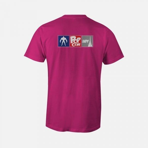 Pink PopCon Internet Cat Shirt (PopCon Logo Back)