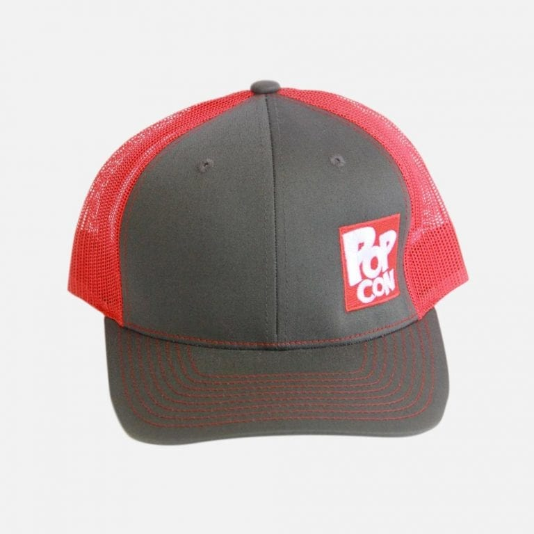 PopCon Grey/Red Hat