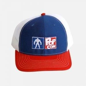 PopCon Red, White & Blue Hat