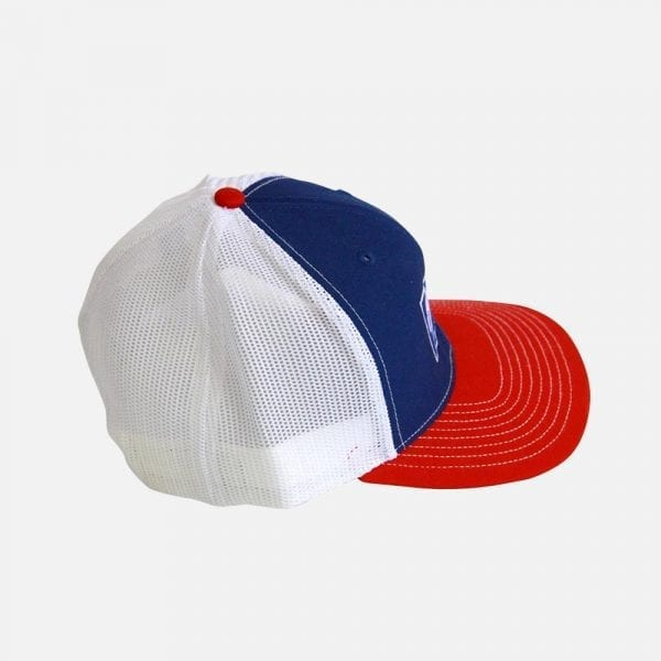 PopCon Red, White & Blue Hat (Side)