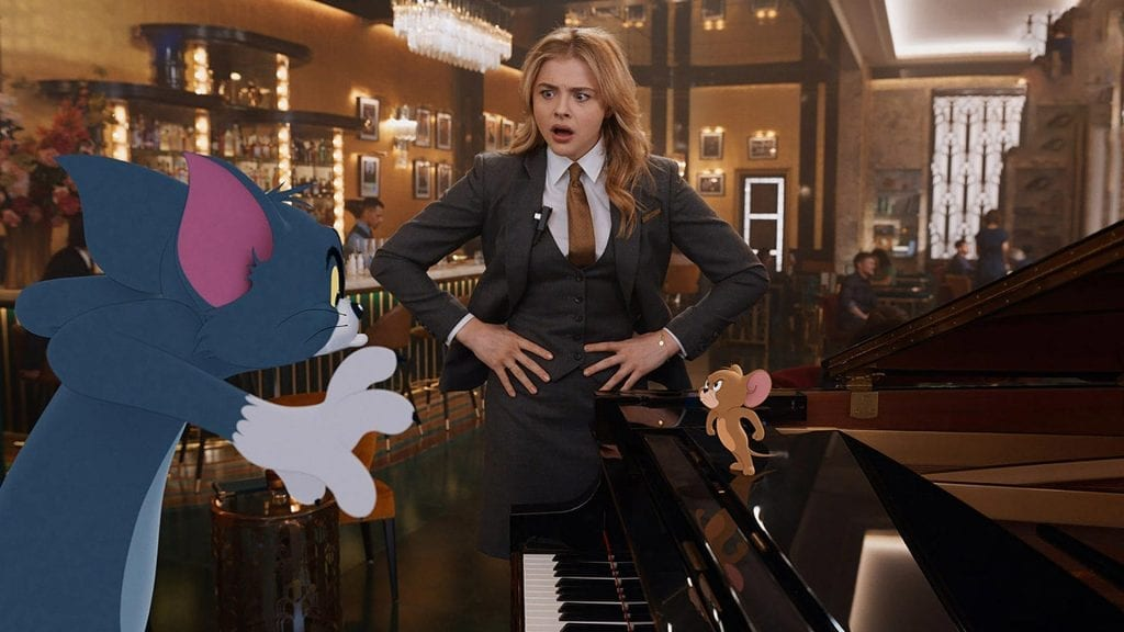 Tom and Jerry Movie with Chloë Grace Moretz